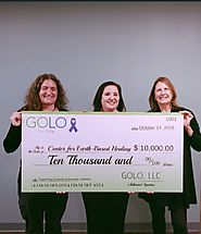 GOLO LLC Donates $10,000 to Center for Earth Based Healing
