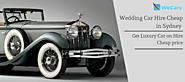 Wedding Car Hire Cheap in Sydney | WeCars