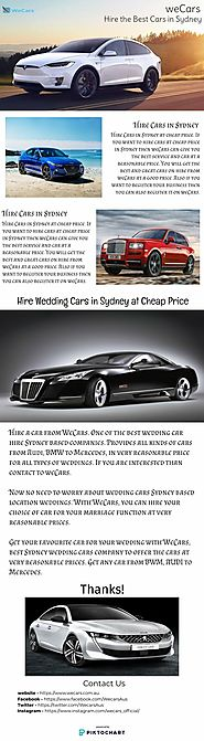 Hire the Best Cars in Sydney | weCars | Piktochart Visual Editor