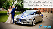 Hire Wedding Cars in Sydney | weCars