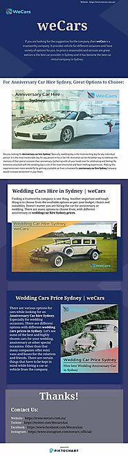 Anniversary Car Hire Sydney, Great Options to Choose.