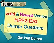 HPE2-E70 Exam Dumps: Ultimate Solution to Pass Selling the Value of HPE Hybrid IT Solutions