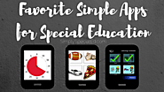 Favorite SIMPLE Apps for Special Education - Simply Special Ed
