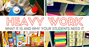 Heavy Work: WHAT it is and WHY Your Students Need It - Teaching Special Thinkers