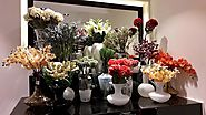 Use Artificial Flowers and Plants for Refresh Look
