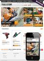 Tool Store website template