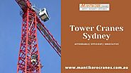 Hire tower cranes from professionals for constructing taller structures efficiently.
