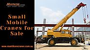 Importance of buying small tower and mobile cranes for construction sites.