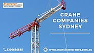 What are the benefits of buying a crane for your construction business?