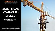 Why hiring a tower crane offers huge benefits to construction industry?
