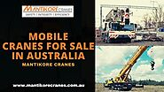 Going for rental with mobile cranes for sale in Australia – Cranes