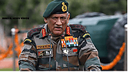 Indian Army Chief General Bipin Rawat started dreaming of occupying Azad Kashmir