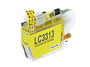 Premium Ink Cartridges Compatible LC3313 Yellow – for use in Brother Printers