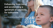 Enhancing lives today and accelerating a spectrum of solutions for tomorrow