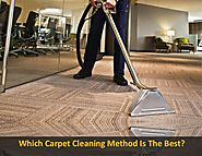 Which carpet cleaning method is the best