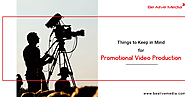 6 Useful Tips for Making Promotional Video