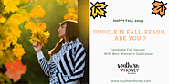 Google Is Fall-ready, Get Yourself Ready Too With Women's Outerwear