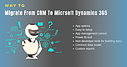 Why to Migrate from CRM to Micrsoft Dynamics 365 Online Services?