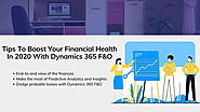 Boost Your Financial Health in 2020 With Dynamics 365 Finance and Operations