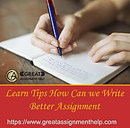 GreatAssignmentHelp (@AssignmentGreat) | Twitter