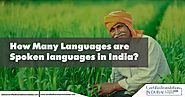 How Many Languages are Spoken in India?