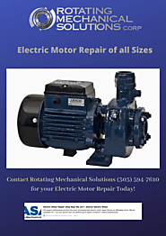 Electric motor repair denver co
