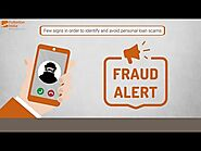 How to Identify and Avoid Personal Loan Frauds in India | Avoid Personal Loan Scams