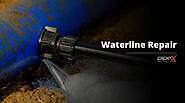 Waterline repair and replacement for smoothening the water flow