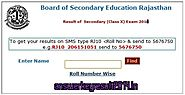 "Results 2014 "" Rajasthan Board 10th Result 2014"
