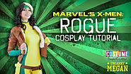 Marvel's X-Men: DIY Rogue Cosplay Tutorial