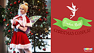 Christmas Tinker Bell Cosplay- How to Make Wings and Fur