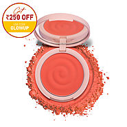 K.Play Flavoured Blush -Buy Flavoured Blush in bright coral shade | MyGlamm