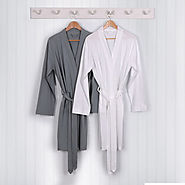 Buy Lightweight Jersey Dressing Gown at TowelsRus
