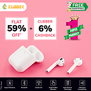 Shop Now Bluetooth Headset with Mic at Cubber