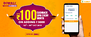 Get up to Rs.100 Cashback Spin Every Month