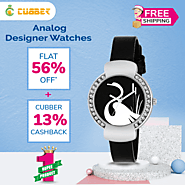 Buy Designer Watch at Cubber Mall and Get Flat 56% off + 13% Cashback