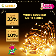 Buy Light Series at Cubber Mall and get Flat 33% Off + 10% Cashback