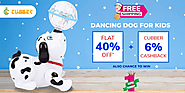 Get Chance to win Dancing Dog at just Rs.1 on Crowd Shopping