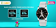 Get flat 52% off + 6% cashback on Buying watch at Cubber Mall