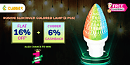 Flat 16% off + 6% Cashback on Buying Lamp at Cubber Mall