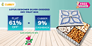 Win Product at just Rs.1 or get flat 61% off + 9% Cashback at cubber mall