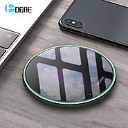 Buy Qi Wireless Dock Charger for iPhone X, XS, MAX XR| ShoppySanta