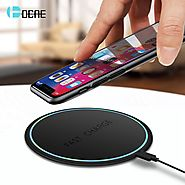 Shop for Fast Qi Wireless Dock Charger for iPhone X,8 & MAX XR |ShoppySanta