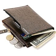 Shop for Fashionable Men's PU Leather Wallet With Coin Pocket |ShoppySanta