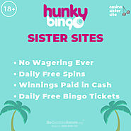 Bingo sites like Hunky Bingo – Partner sites with penny Scratch cards & VIP benefits.