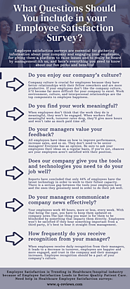 What Questions Should You include in your Employee Satisfaction Survey?