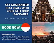 Book your Bali Holiday now!
