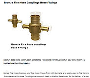 Bronze Fire Hose Couplings Hose Fittings