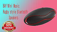 Xcluciveoffer BAY Mini Music Rugby style Bluetooth Speakers
