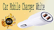 Xcluciveoffer Car Mobile Charger White